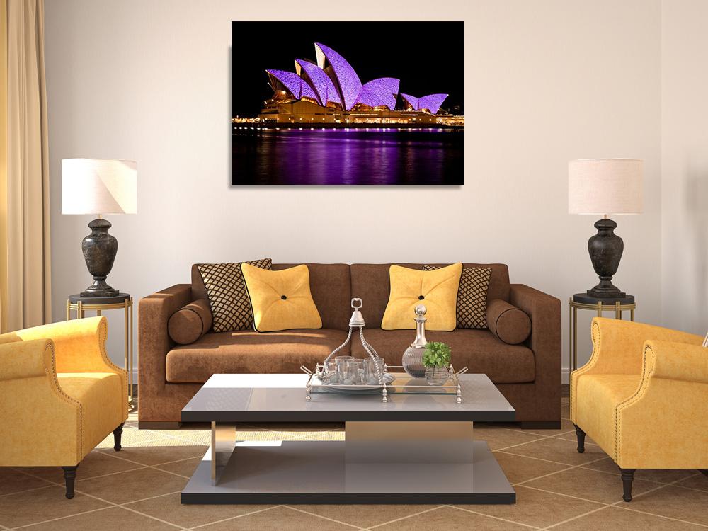 Sydney Opera House Print on Canvas