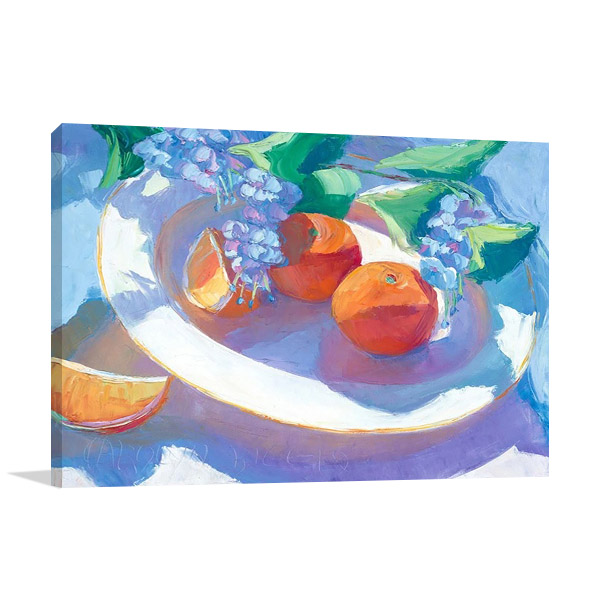 Oranges Wall Art Print | Biggio