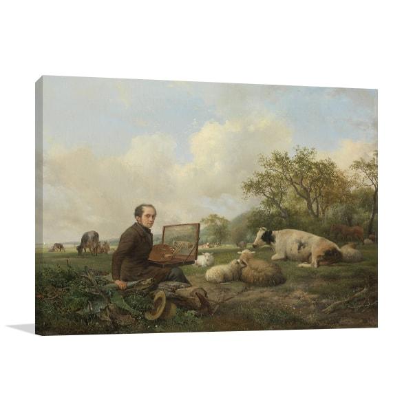 The Painter Prints Canvas