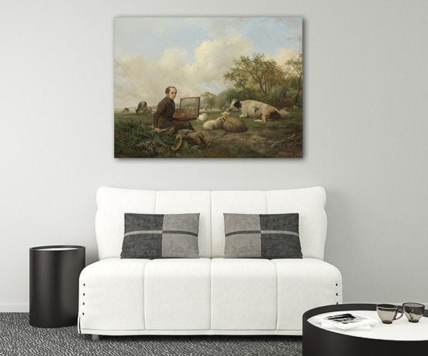 The Painter Canvas Prints