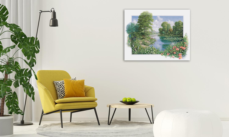 Nature Landscape Canvas Wall Print
