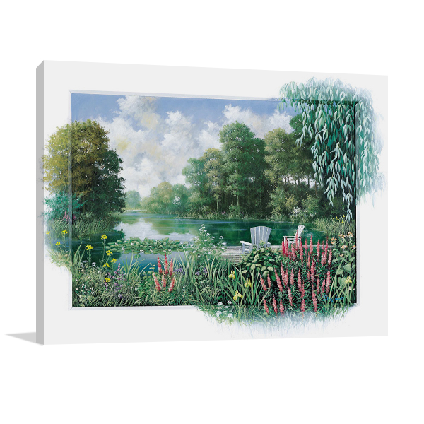 The Pond II Wall Art Print