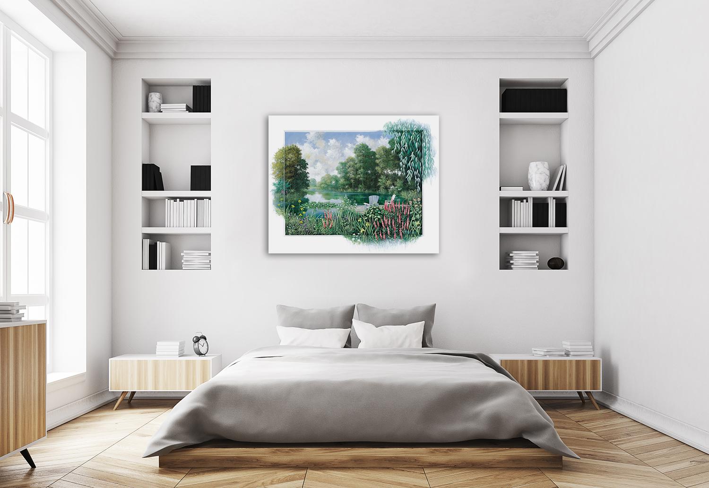 Home and Hearth Wall Art Print