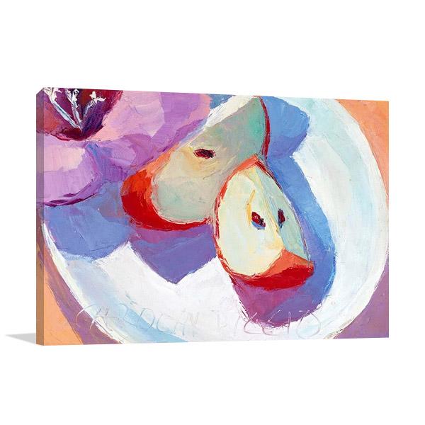 Red Apples Wall Art Print | Biggio