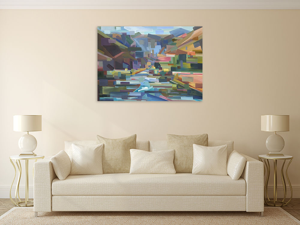 Landscape Abstract Wall Art Canvas