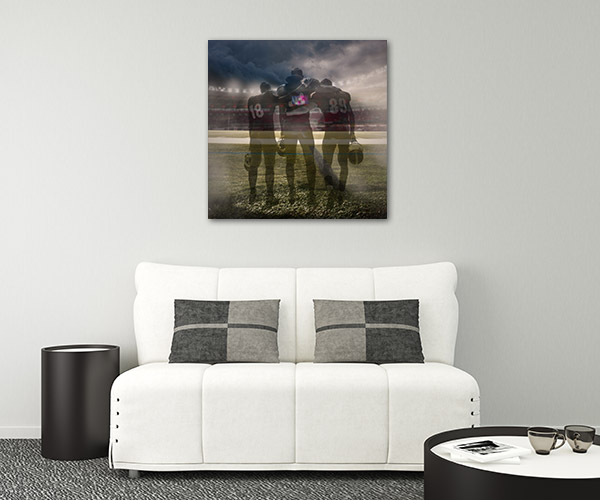 Three Players Wall Art