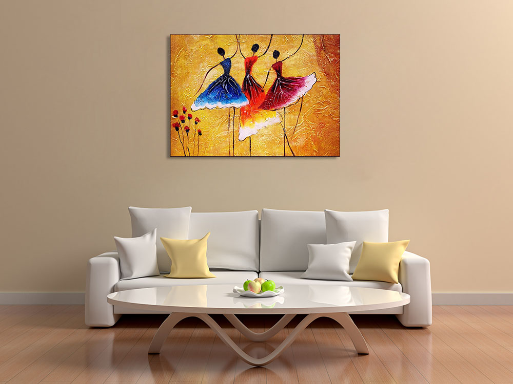 Art Canvas Contemporary Print