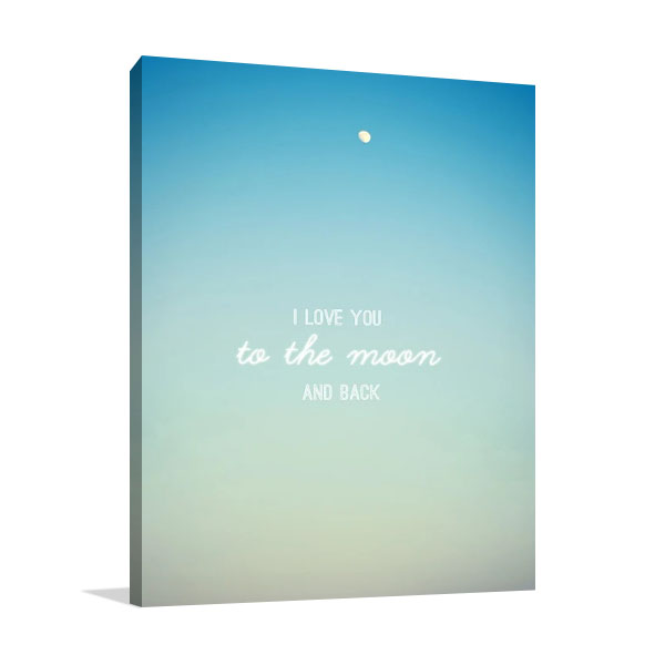 To the Moon Wall Print | Leal