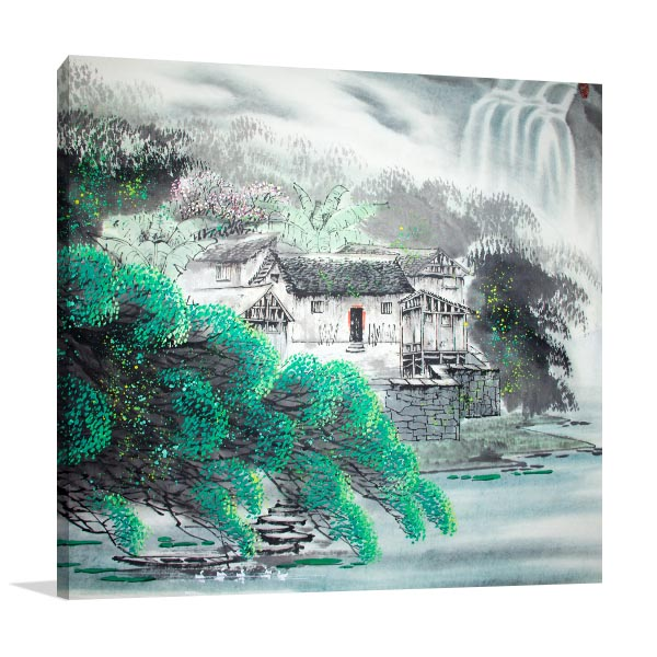 Traditional Scenery Artwork