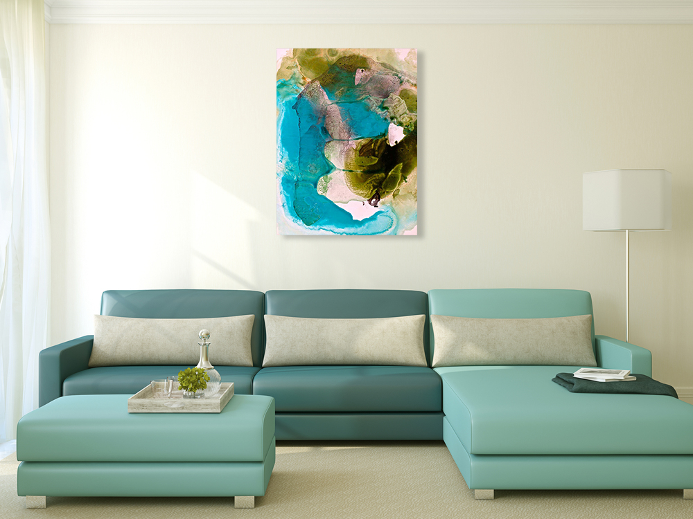 Contemporary Abstract Print Canvas