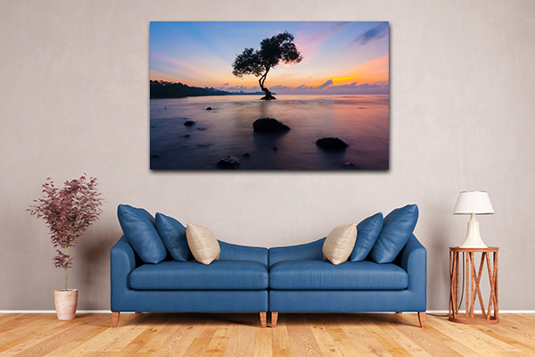 Tree in Sea Artwork