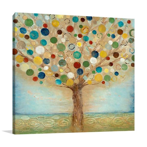 Tree of Light Wall Print | Tava Studios