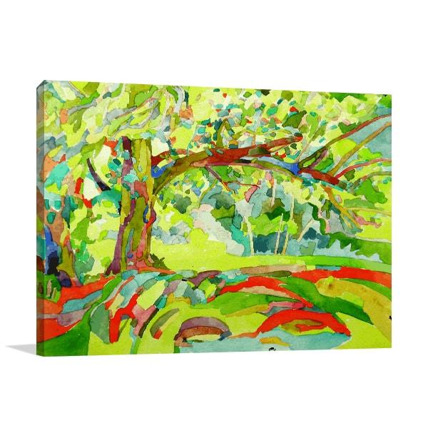 Tree Village Artwork
