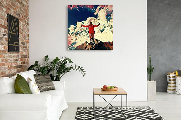 Trekking Canvas Prints
