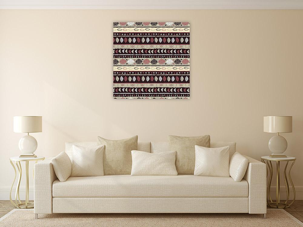 African Style Pattern Art Print