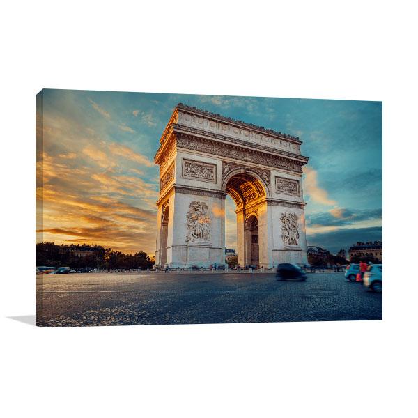 Triumphal Arch Canvas Art