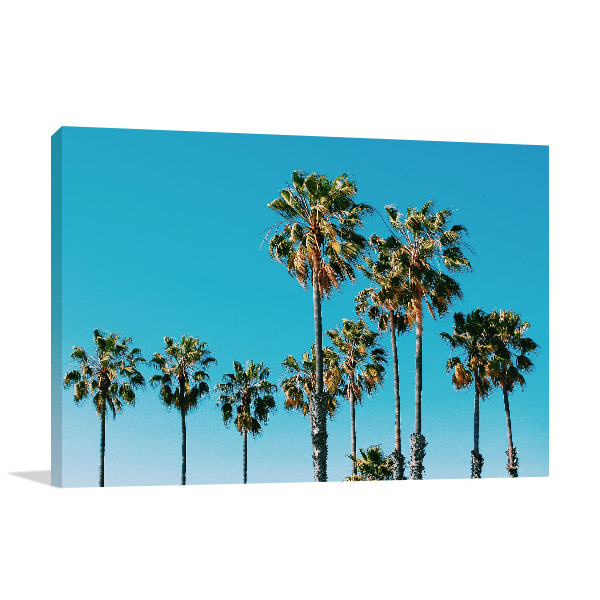Tropical Beach Concept Print Picture
