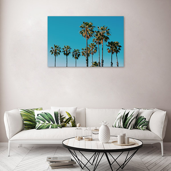 Tropical Beach Concept Canvas Prints