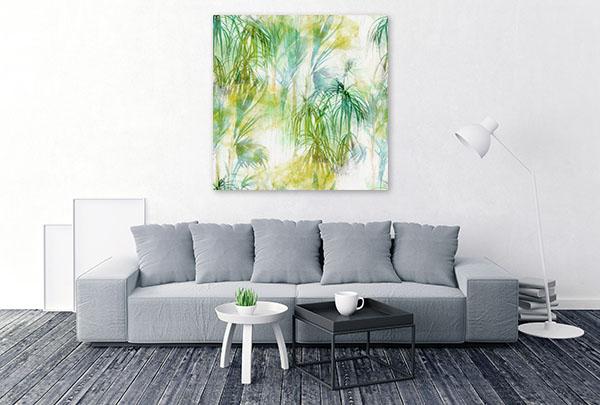Tropical Leaves Canvas Prints