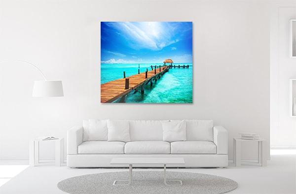 Tropical Resort Artwork