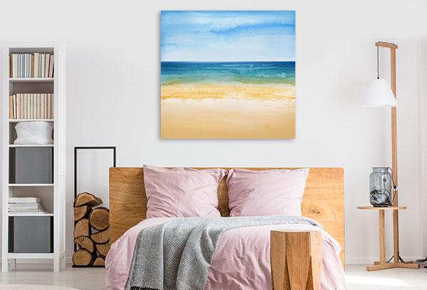 Tropical Sea Print Artwork