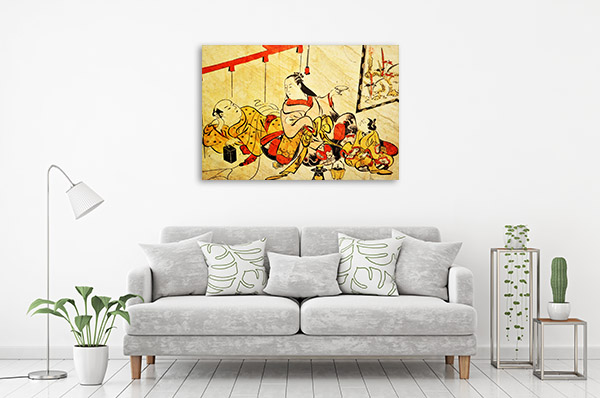 Typical Japanese Canvas Art