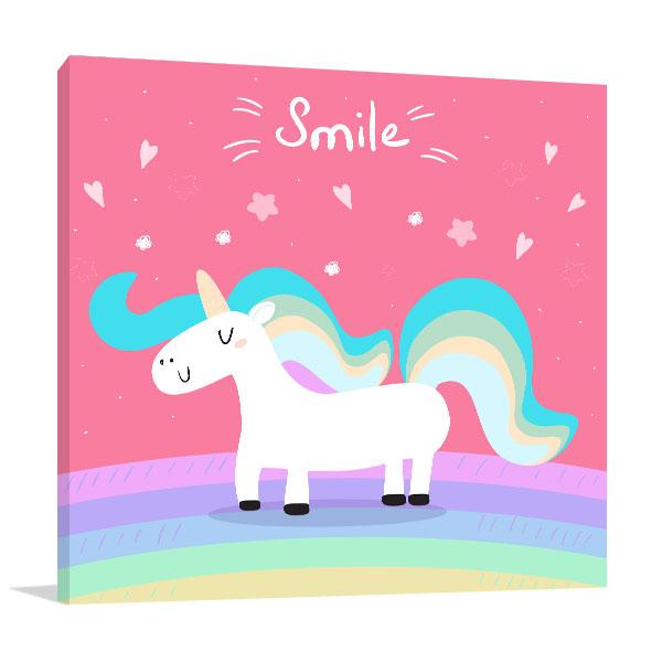 Unicorn For Kids Print Artwork