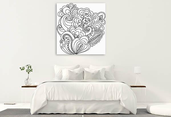 Unique Floral Canvas Prints