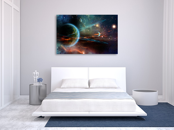 Universe Galaxy Canvas Prints