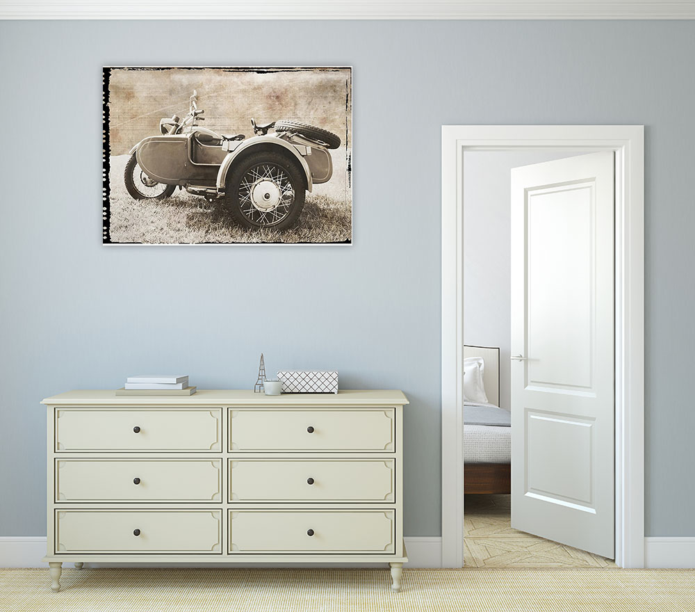 Sepia Wall Art on Canvas