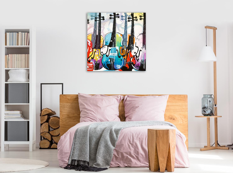 Music Instrument Art Wall Print