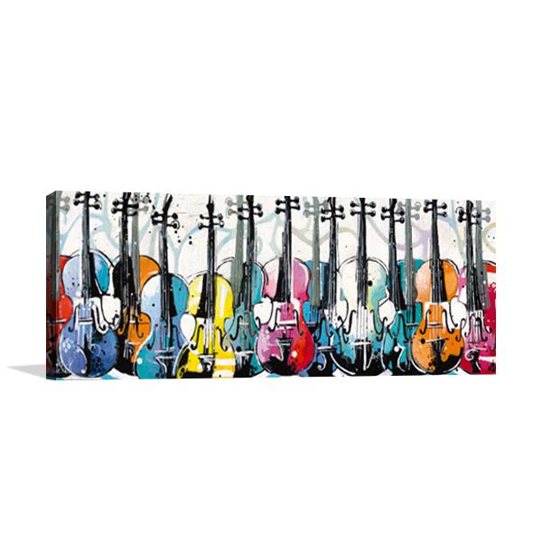 Variation for Violin Wall Art Print