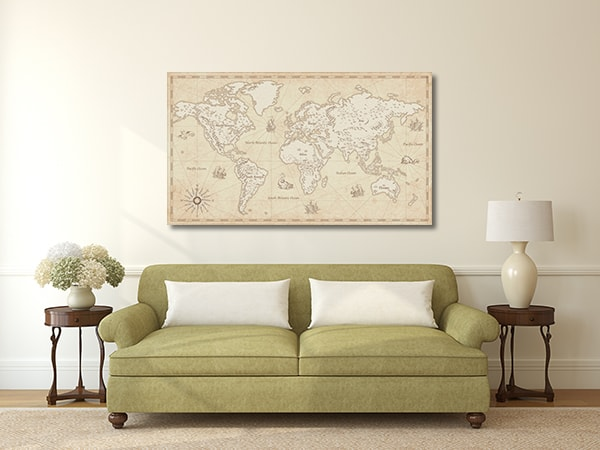 Vector Detailed Map Artwork