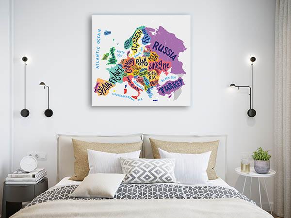 Vector Europe Map Artwork