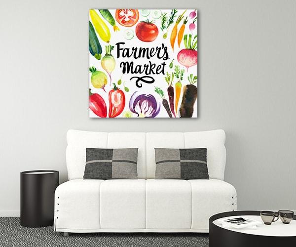 Vegetables Print Artwork