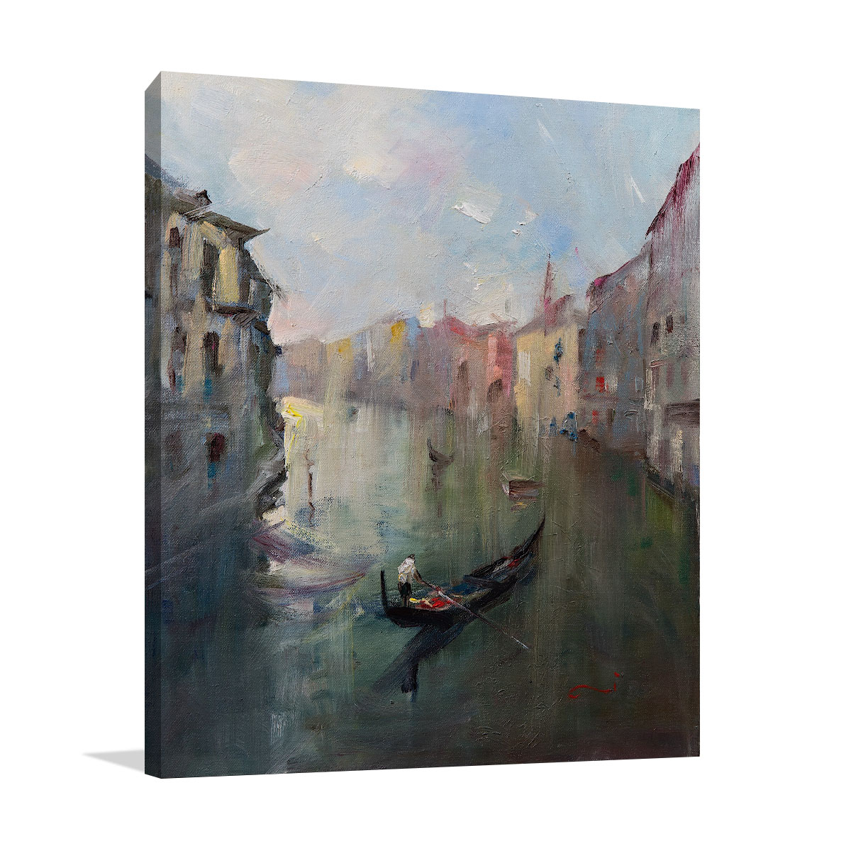 Li Zhou | Venice Canal Paintings | Wall Art Prints | Australia