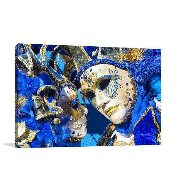 Venice Carnival Mask Wall Art