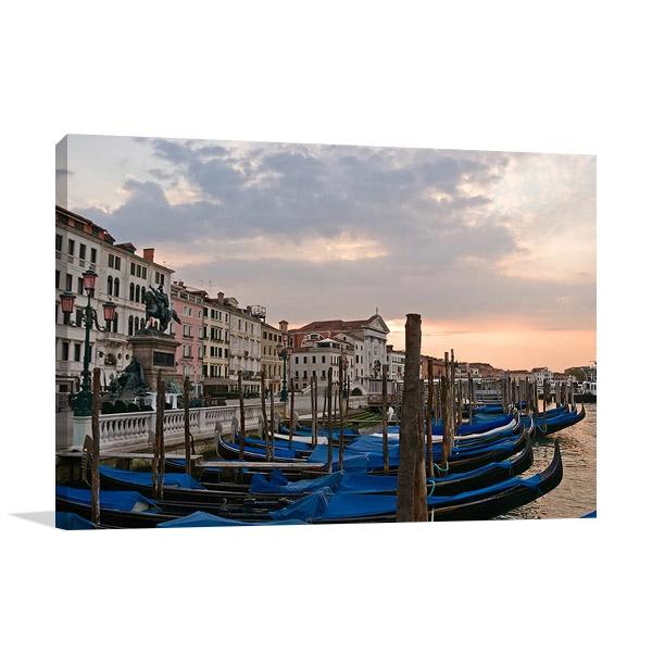 Venice Gondolas Wall Print