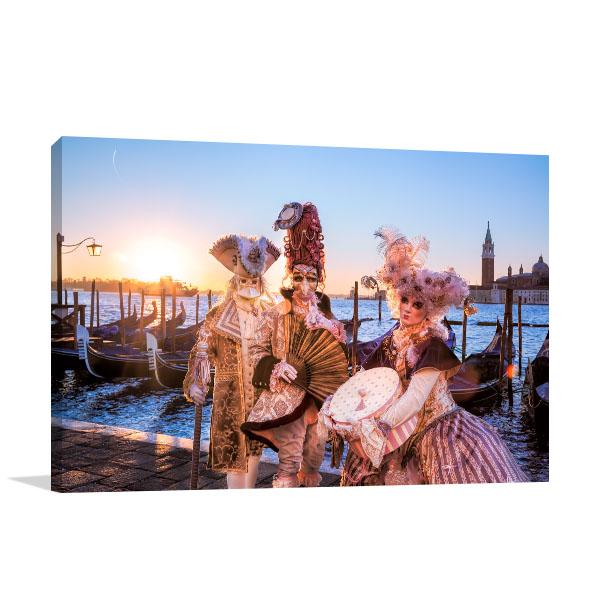 Venice Masquerade Canvas Art Prints