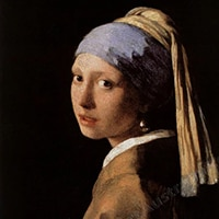 Vermeer | Girl with a Pearl Earring Replica Painting
