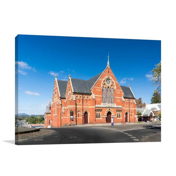 Victoria Canvas Print Ballarat Church