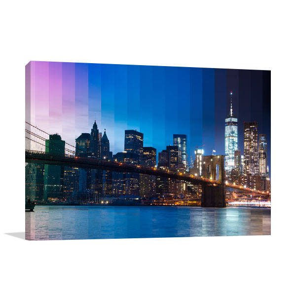 View East River Canvas Art