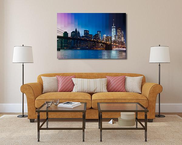 View East River Canvas Prints
