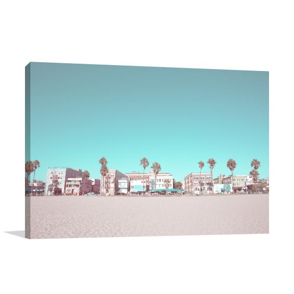 Vintage Beach Composition Picture Art