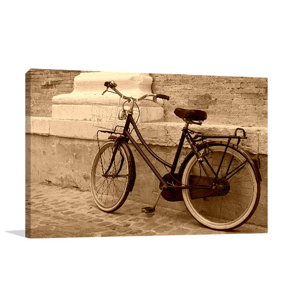 Vintage Bicycle Canvas Prints