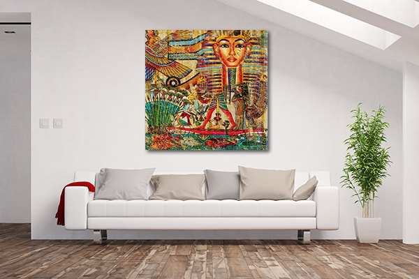 Vintage Egypt Canvas Prints