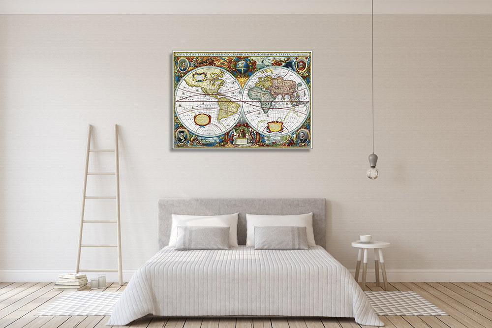 Canvas Print Vintage Wall Art