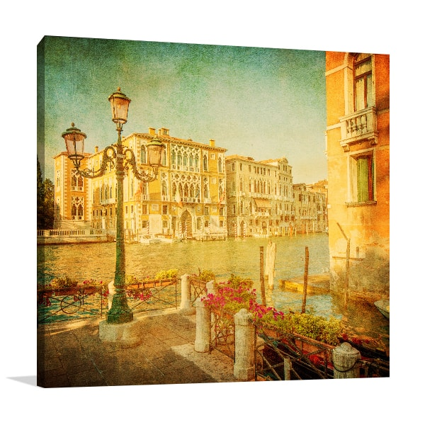 Vintage Grand Wall Canvas