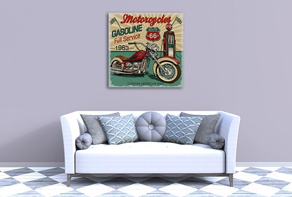 Vintage Route 66 Art Prints