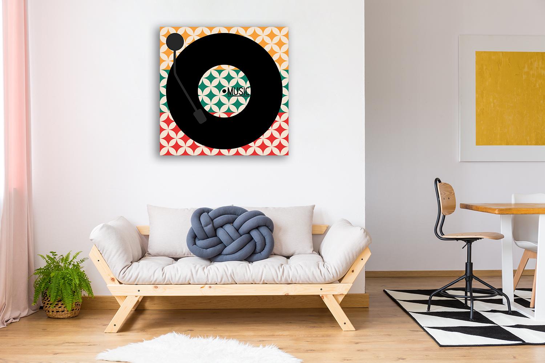 Square Canvas Art Print